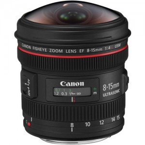 Canon EF 8-15mm L f:4 Fisheye USM
